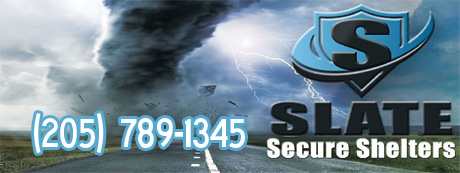 Slate Secure Shelters, Storm Shelters Birmingham AL, Tornado Shelters Birmingham Alabama, Alabama Storm Shelters, AL Tornado Shelters