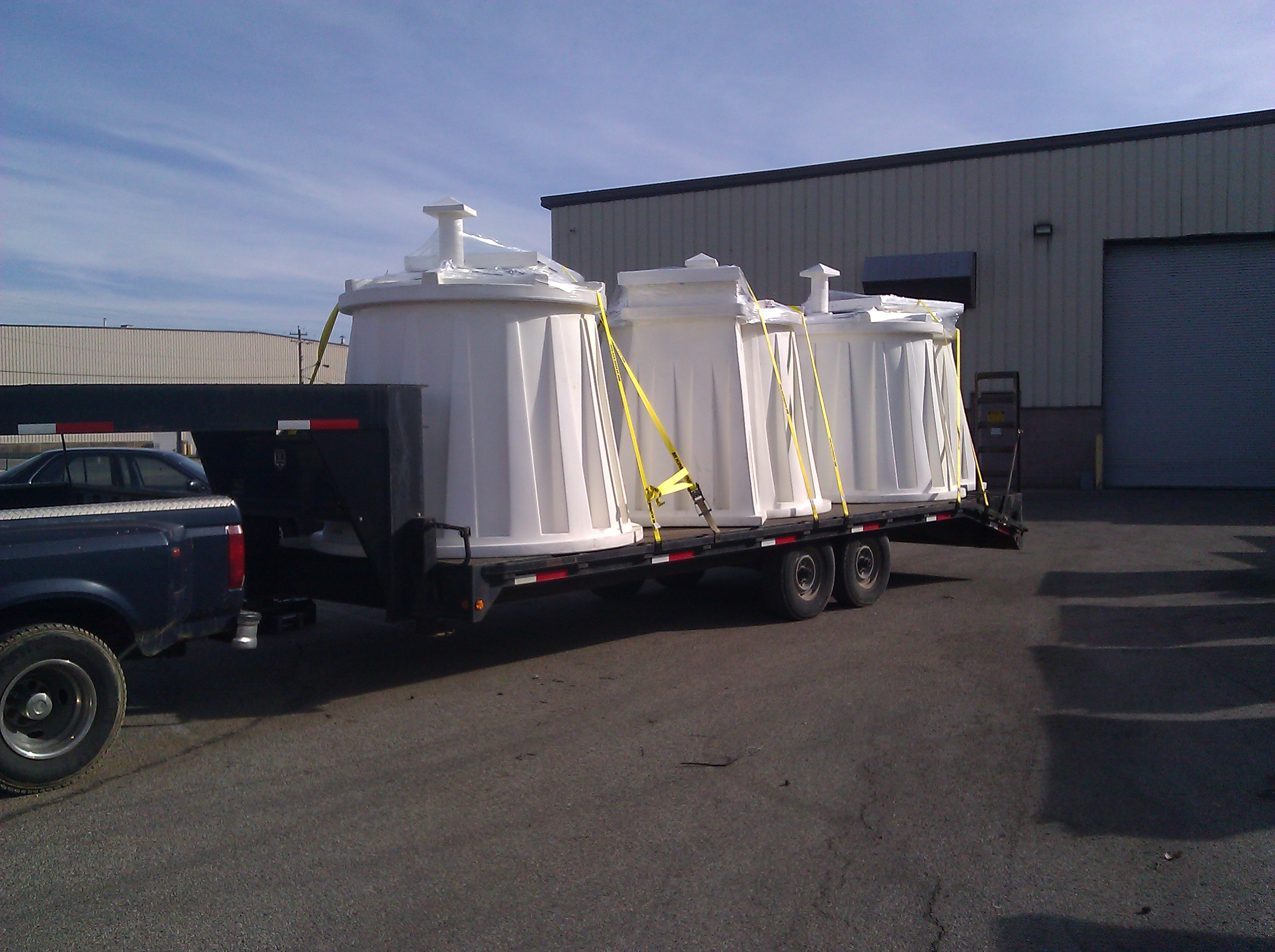 Tornado Shelters Being Picked Up, Tornado Shelter Dealers, OK Tornado Shelter Dealers